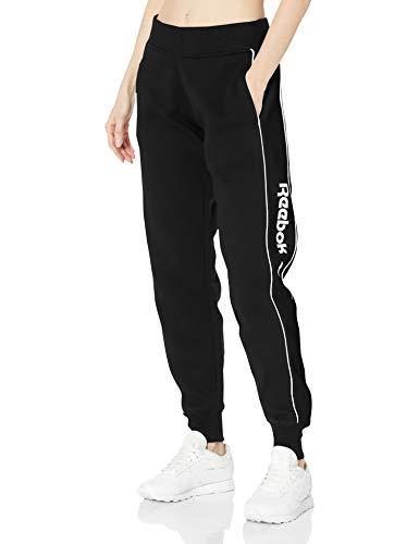 Reebok Classic Linear Pants Pantalones, Negro, XXS para Mujer