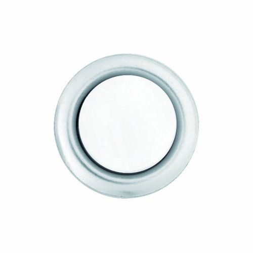 Heath Zenith 228052 Wired Replacement Button, Silver Rim with Lighted Pearl Center