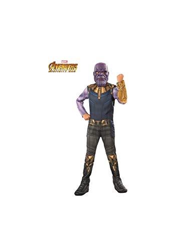DISBACANAL Disfraz Thanos Infinity War Infantil - -, 3-4 aos