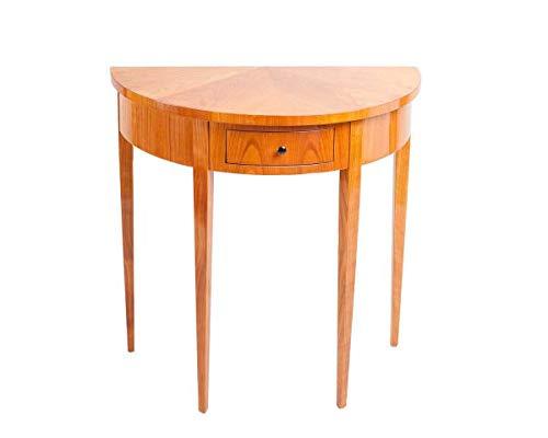 Retroles Biedermeier Demi Lune Tisch