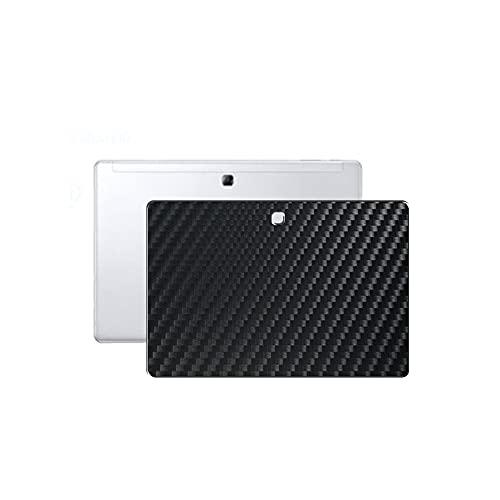VacFun 2 Piezas Protector de pantalla Posterior, compatible con Samsung Galaxy Book 12', Película de Trasera de Fibra de carbono negra Skin Piel