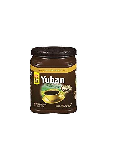Yuban Original Ground Coffee Canister, Medium Roast, 42.5 Ounce