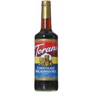 Torani Sirup Chocolate Macadamia 750 ml Flasche