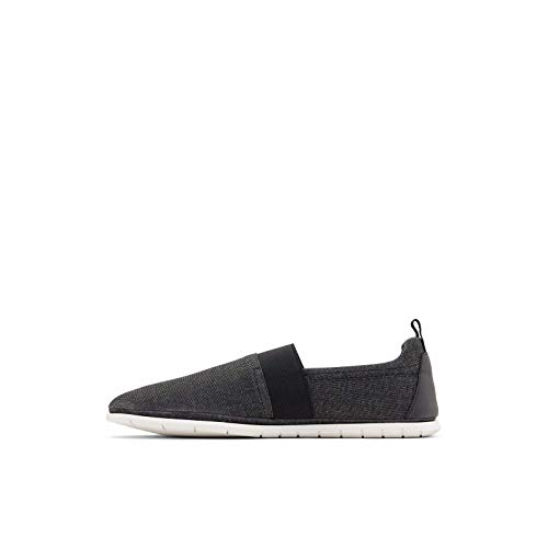 ALDO Men's Schoville Slip-On Casual Shoes Loafers, Black, 11