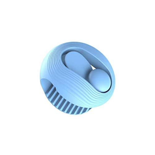 LBWNB 6 Stück Quilt-Blattclip Nadelfreie Quilt-Befestigungselemente Rutschfester Bettbezugclip Blattclip Clips Zur Befestigung des Quilt 4,5 cm/blau