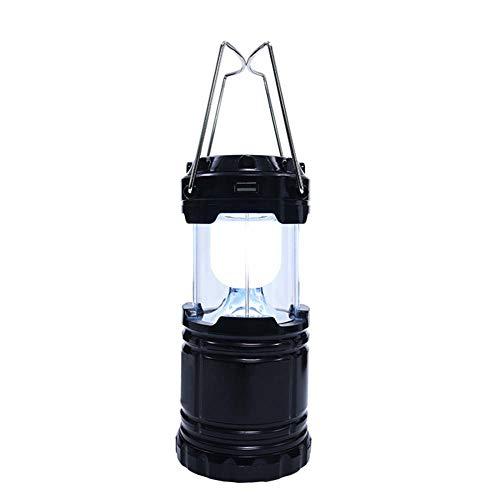 Yx-outdoor oplaadbare kampeerlamp op zonne-energie, gestrekte paardenlicht-steunbatterijcapaciteit, beweegbare laadschat waterdicht