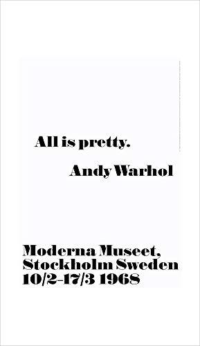 1art1 Andy Warhol - All is Pretty Poster Kunstdruck 100 x 70 cm