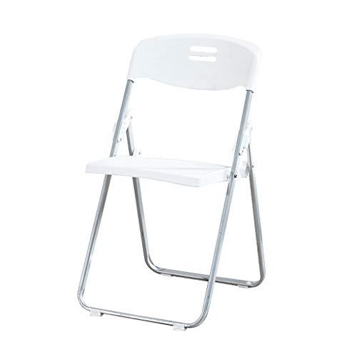 Lxn Chaise de salle à manger pliable de conception de simplicité simple, jambes en métal de siège en plastique portatif chaises,salle à manger,cuisine,salle de réunion,bureau,chaise d'ordinateur -1pcc