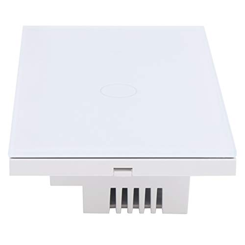 Interruptor inteligente, interruptor táctil inteligente Interruptor de control Wifi Interruptor inteligente Wifi para escenas inteligentes para hogares inteligentes
