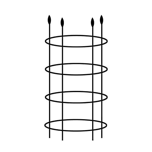 S/C Rankhilfe Metall Obelisk Clematis Gartengestaltung Zimmerpflanzen Kletterpflanzen Blumentopf Garten Für Blumentöpfe In Innen- Und Außen- Und Außenbereiche Oder Outdoor-Anbau Usw.