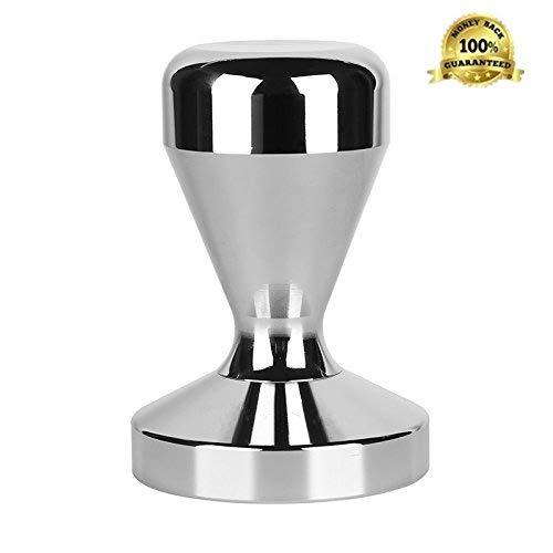 PREMIUM Prensador Tamper de Café - 2 Años de Garantía Gratuita - 51mm Cafe de sabotaje de acero inoxidable El Perfecto Upgrade su Espresso merece