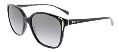 Prada Damen 0Pr01Os 1Ab3M1 55 Sonnenbrille, Schwarz (Black/Grey Gradient)