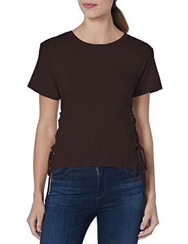Buffalo David Bitton Damen Chrissy T-Shirt, schwarz, X-Klein