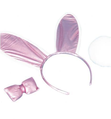 Glitter Bunny Set - Shiny Pink