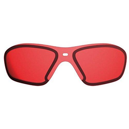 Wenger X-Kross Sports, Winter Active Red, Funktionsscheibe,, 100% UVA/UVA 400 Schutz, Polycarbonat, Verlauftönung