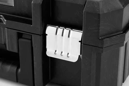 Stanley Werkzeugtruhe mit verzinkten Schließen (mit Rollen, 66 cm) 195828 - 3