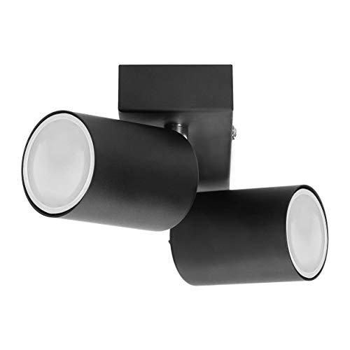 nero ORNO DOA SP 10 Faretti Da Soffitto e Lampada da Parete Spot GU10 max 1x 35 W IP20