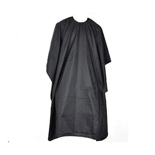 Haarschnitttuch Friseurkleid Schal zum Stylen Schneiden und Färben von Haaren, Schwarz