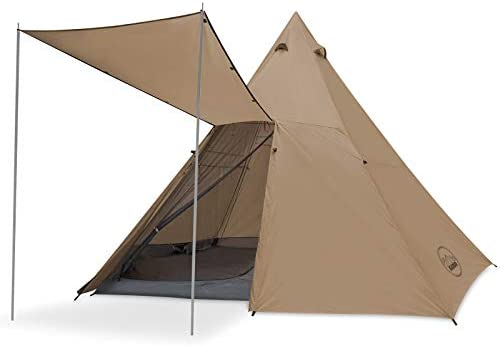 KAZOO Family Camping Tent Large Waterproof Tipi Tents 8 Person Room Teepee Tent Instant Setup product image