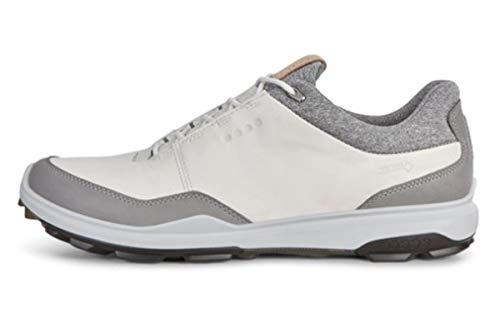 ECCO Biom Hybrid 3 Zapatillas de Golf, Hombre, Blanco (Blanco 51227), 42 EU