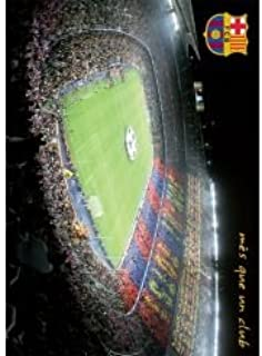 FC Barcelona | NOU Camp Stadium Poster 2014