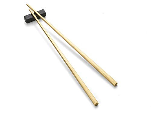 Chop Sticks 23cm 2 Set Brass
