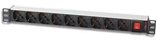 Intellinet I-CASE STRIP-91U accesorio de bastidor Regleta eléctrica - Accesorio de rack...