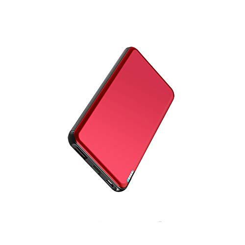 ockered Power Bank 10000mAh, Caricatore Portatile con USB C&Micro Ingresso Powerbank Batteria 5 Indicatore LED Intelligente per iPhone iPad Samsung Huawei
