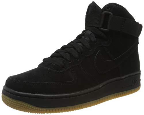 Nike Air Force 1 High Lv8 (GS), Zapatillas Altas Unisex Adulto, Negro (Black 807617/002), 37 1/2 EU