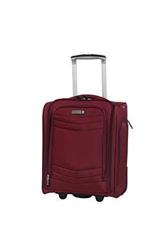 it luggage Intrepid 16.9' 2 Wheel Carry-On, Dark Red