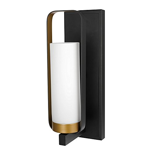 1 Downlight Wall Sconce - 3