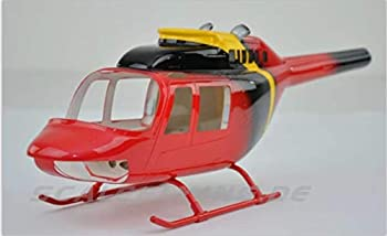 RC Helicopter B206 450 Pre-Painted fuselage for 450 Size Helicopters.Suitable for Almost All 450 Size 325mm Rotor Blade  Helicopters Such as  Align T-REX450X/XL/SE/SE V2