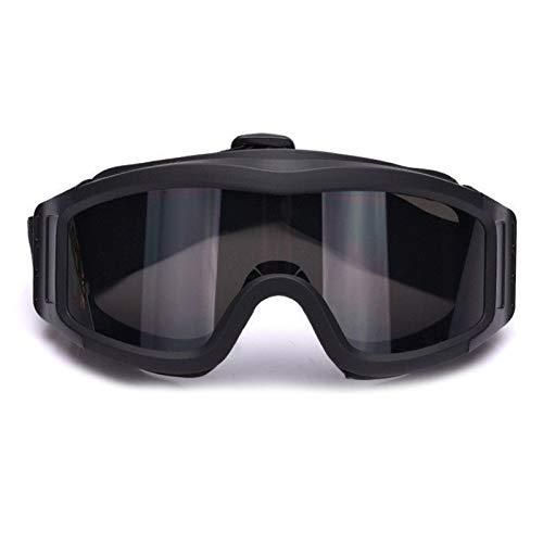 Ventilador versión Cooler Tactical Airsoft Paintball Gafas Regulador Gafas Protectoras para Snowboard Esquí Caza Tiro Bicicleta Deportes