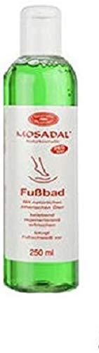 Bain de pieds Mosadal lotion 250ml Cosmétique naturel sans PEG de, avec aux huiles essentielles naturelles, prévient les pieds transpiration avant, revigorant-Régénérant-Rafraîchissant