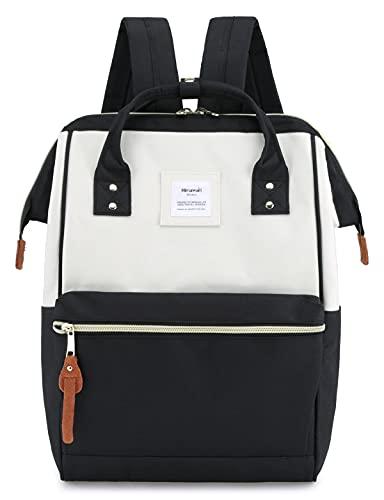 Himawari School Laptop Backpack for College Large 15.6 inch Computer Notebook Bag Travel Business Backpack for Men Women(9001-BPH)