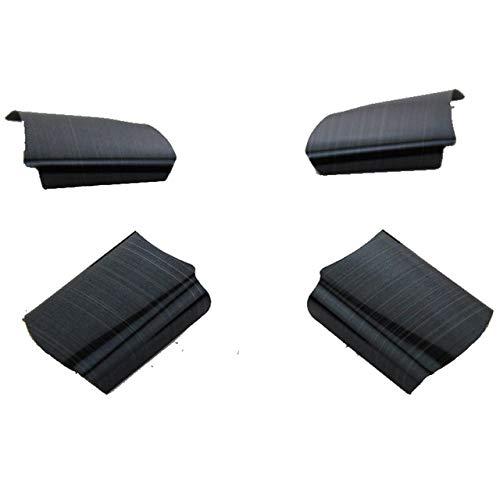 Foal Burning - Adhesivo decorativo para volante de coche, acero inoxidable, para Ford Focus 2 Mk2 2005 - 2011, accesorios-negro