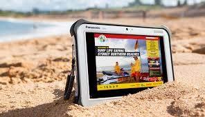 "PANASONIC TOUGHPAD FZ-G1 FZ-G1U5500VM Rugged Tablet - Win 10 Pro, Intel Core i5-7300U 2.60GHz, 10.1"" WUXGA Gloved Multi Touch + Digitizer LCD, 256GB SSD, 8GB, RFID, 2D Scanner, 4G LTE"