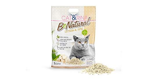 CAT&RINA Benatural Lettiera al Tofu 5,5 L