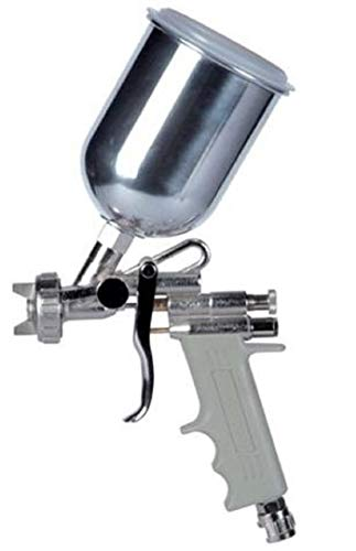 Airbrush-Lackierpistole Sprühpistole Original Asturo E70Tank aus Aluminium 500cc Düse 2.5mm