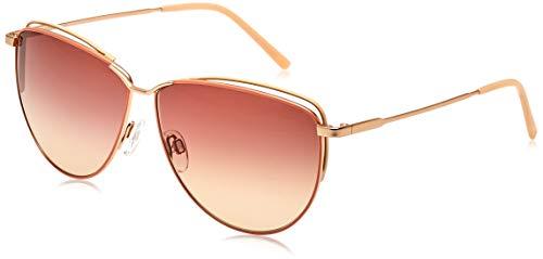 Rodenstock Sonnenbrille Originals Sun R1430 (Damen), leichte Sonnenbrille im Retro-Stil, Schmetterlings-Sonnenbrille mit Edelstahlgestell
