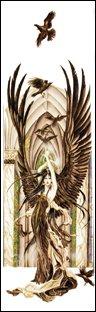 Nene Thomas FAERY OF RAVENS Fairy Faery Bookmark