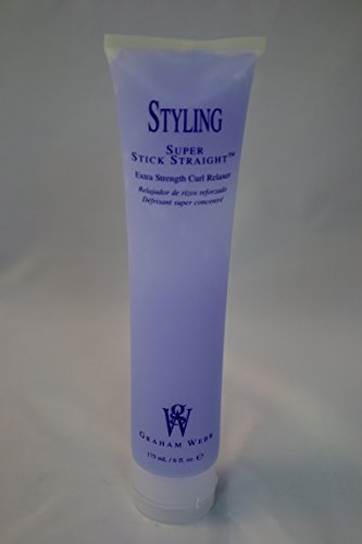 Graham Webb Styling Super Stick Straight Extra Strength Curl Relaxer 6 oz.