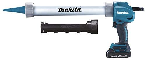 MAKITA DCG180RAX - Pistola de silicona selladora doble cartucho 18 V 2 Ah