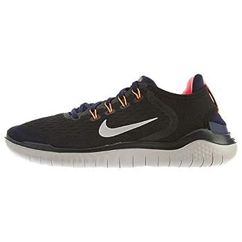Nike Men s Air Free Run 2018 Running Shoe Black/Moon Particle-Blackened Blue 10.0
