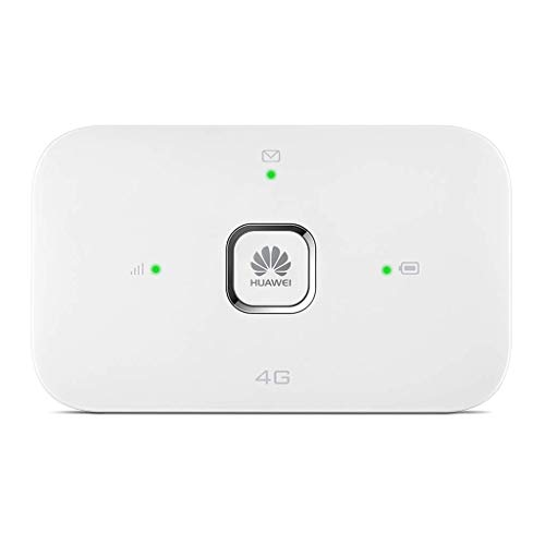 HUAWEI Unlocked E5573Bs-322 4G/LTE 150 Mbps Portable Mobile Wi-Fi Router/Hotspot (White) Will work with any sim Card Worldwide. Genuine UK Seller + VAT Invoice (Renewed)