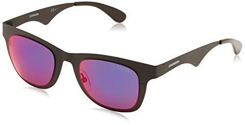 Carrera 6000/MT CP 003 Gafas de sol, Negro (Matt Black/Grey Infrared), 49 Unisex Adulto