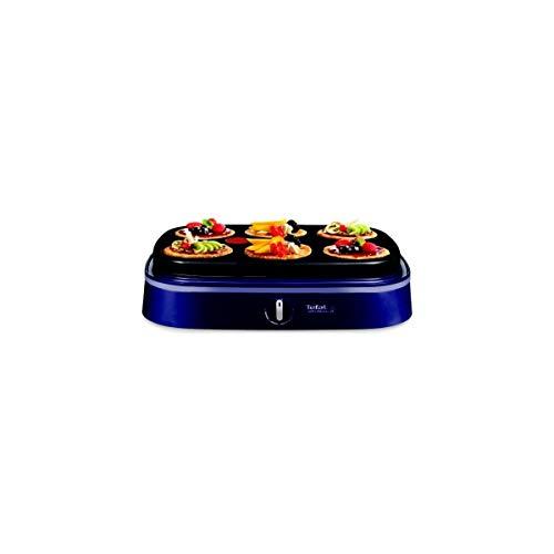 Tefal PY 604612 Partido Dual 2 - Placa de panqueques, color: indigo