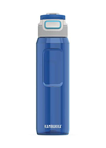 KAMBUKKA Unisex's Elton Navy Water bottle-1000 ML 3 ...