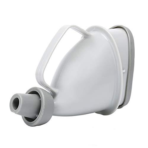 HAOXIANG Portátil Dispositivo Reutilizable orina, pararse Pee Mujer Embudo urinario, para Viajar, en de Viaje en automóvil Camping Ciclismo (Gris)