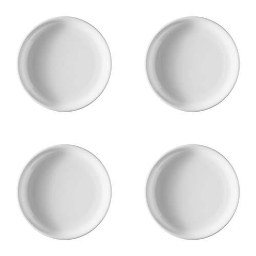 Thomas Trend Weiß 4 x Frühstücksteller 20 cm - 11400-800001-10220